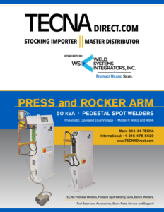Brochure - WSI 50kVA Rocker Welders | Weld Systems Integrators
