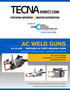 Brochure - WSI AC Weld Guns | Weld Systems Integrators