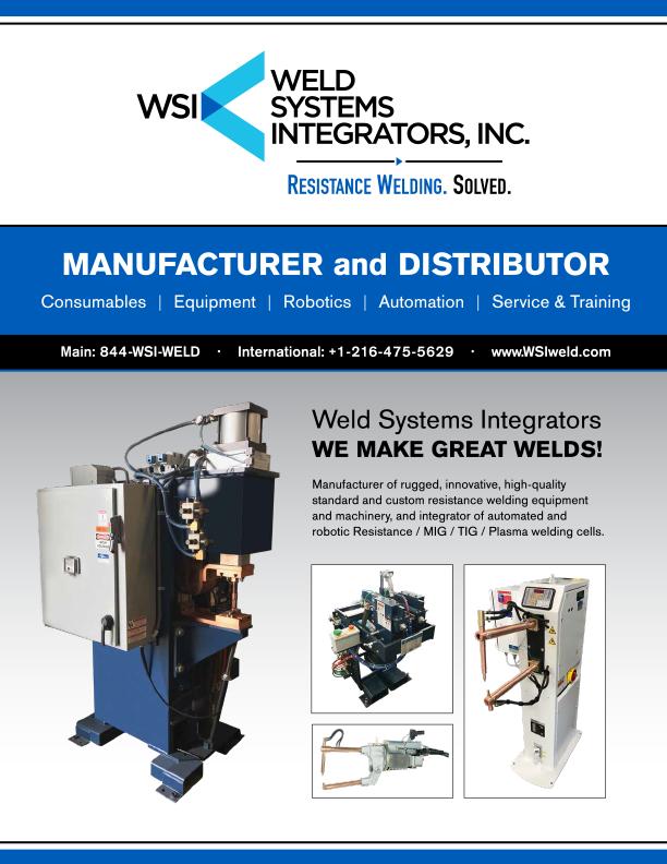 Brochure - WSI Linecard | Weld Systems Integrators